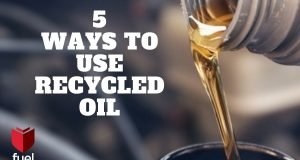 Fuelchief website - 5 ways to use recycled oil