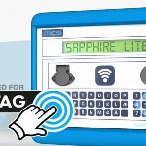Image showing Sapphire tag option
