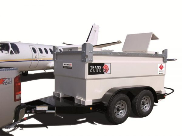 Fuelchief 30TCGCAB on trailer at airport