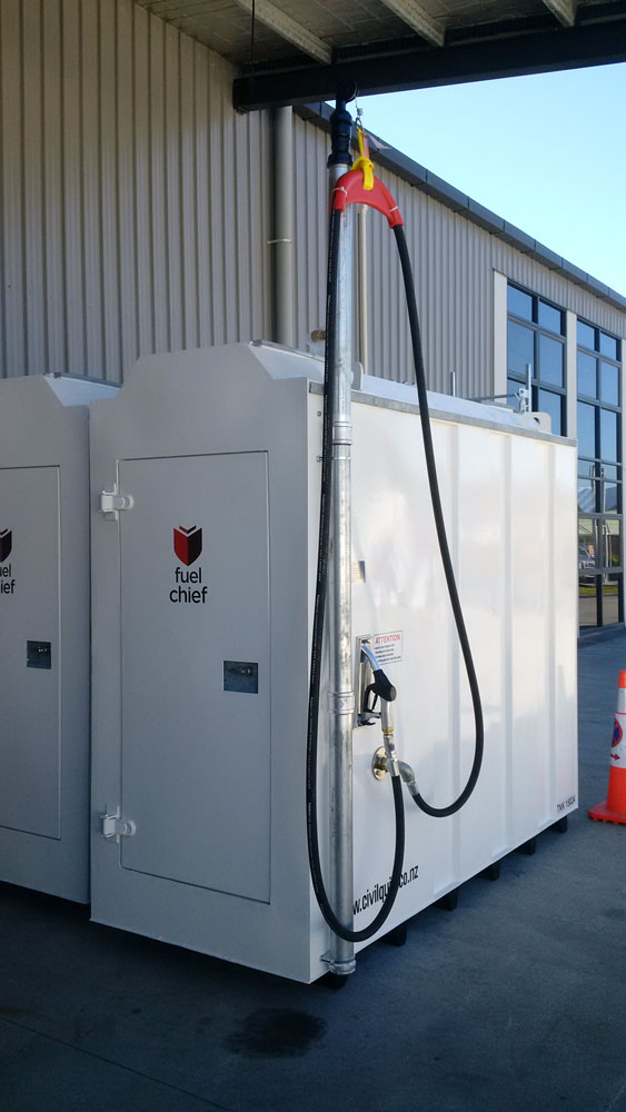 Fuelchief DC50 Basic package with hose tower image