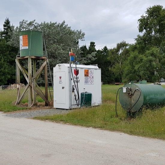 Fuelchief DC50 Tank @ Dennison Farm