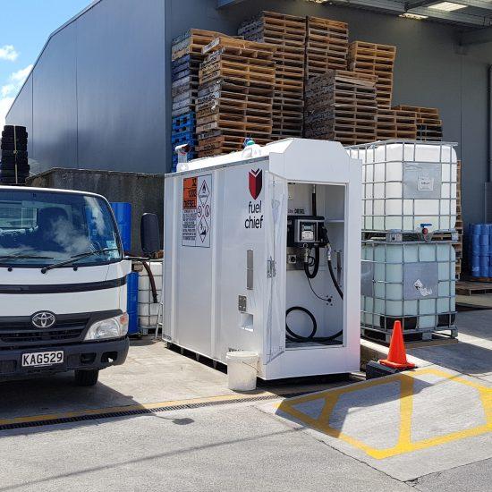Fuelchief DC50 diesel fuel tank