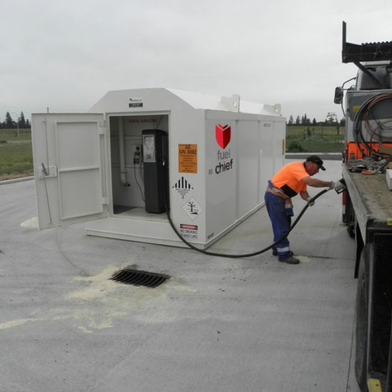 Fuelchief DCD200 Refuelling