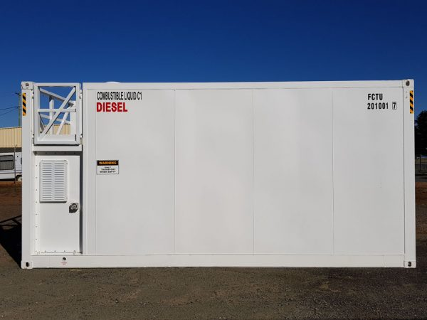 Fuelchief FTN30 Container Tank Front