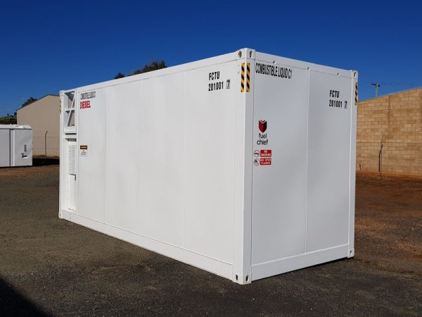 Fuelchief FTN30 Container Tank side