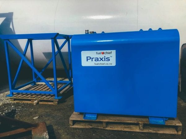 Fuelchief Praxis Electric Blue Image