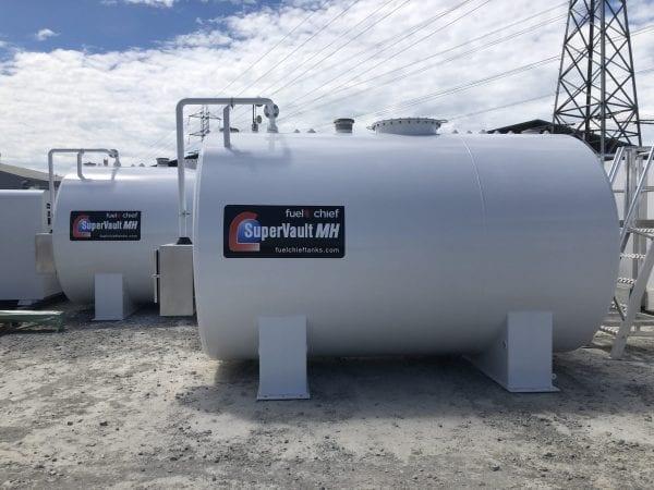 Fuelchief SuperVault Cylindrical Tanks 10000L