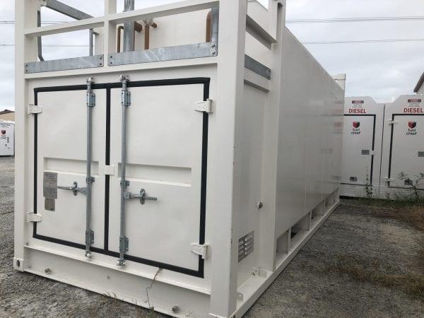 Fuelchief FP30 Container Tank doors of pump bay image