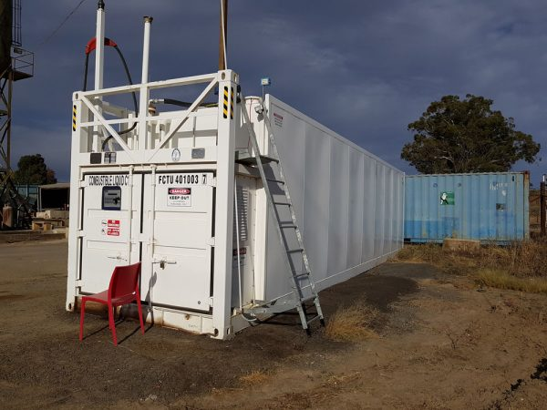 FTN30 container tank on site