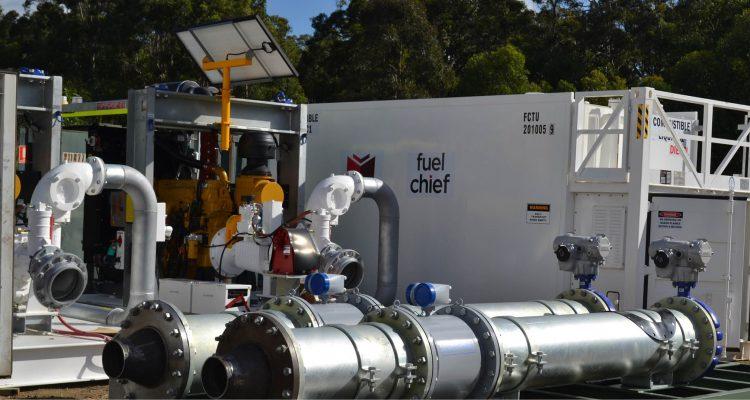 Fuelchief Container Tank For Aqua Energy
