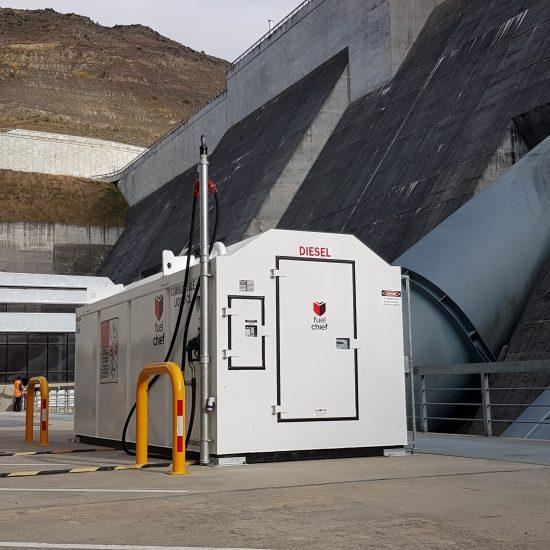 Contact Energy Clyde Dam Diesel Fuel Tank