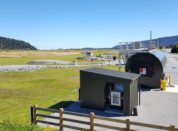 Fuelchief SuperVault Aviation at Franz Josef Airport airfield image