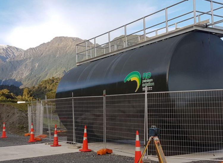 Installation of above ground Fuelchief SuperVault tank