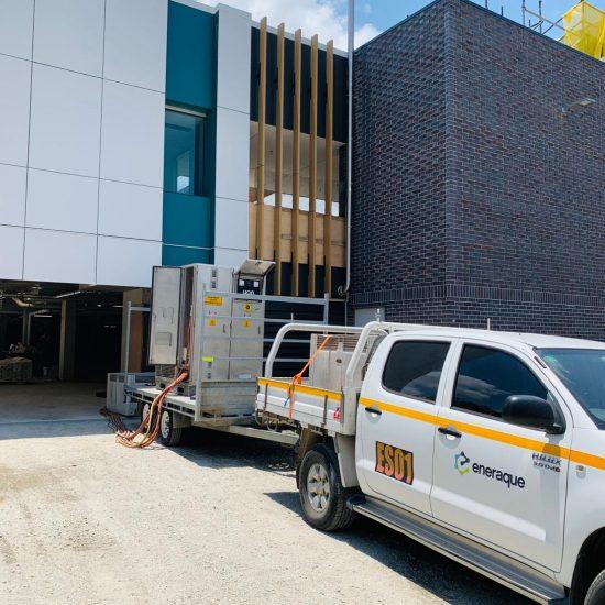 Installation of SuperVault at Prince Charles Hospital Brisbane
