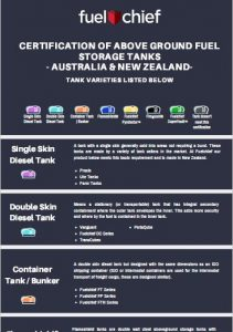 Fuelchief Tank Certification Infographic preview