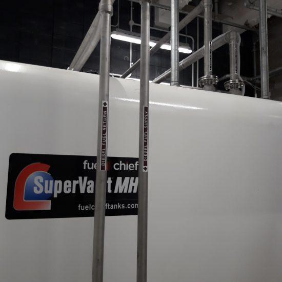 Airways Supervault Rectangular Tank for Power Generator at Airways NZ