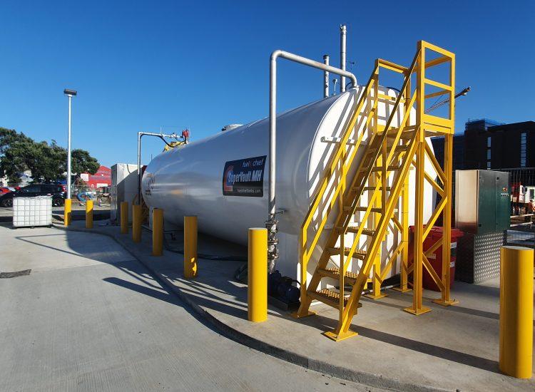 Fuelchief NZ Bus SuperVault at Halsey Street