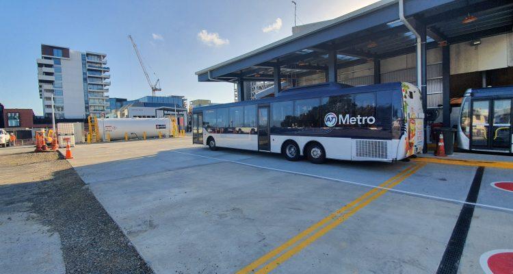Halsey Depot for NZ Bus - Fuelchief SuperVault