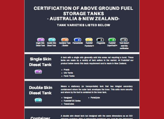 Understanding fuel tanks and their certifications image