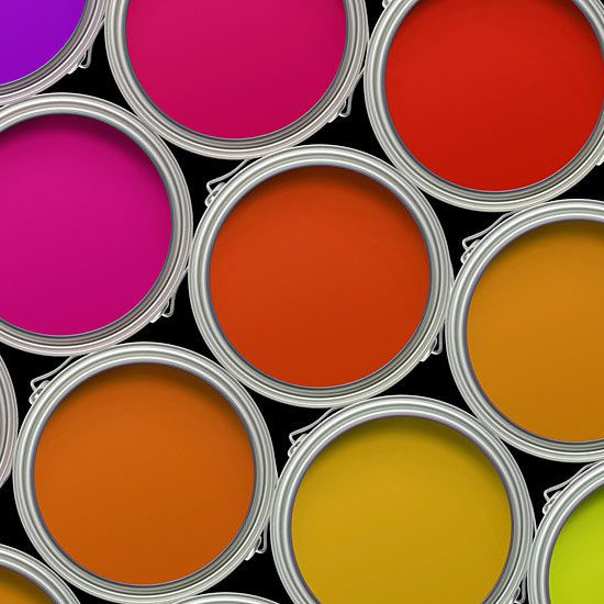 electing the right paint for your above ground fuel tank - picture of paint cans