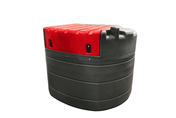 1000L Fuelchief Fortis Stationary Tank - Lid Down