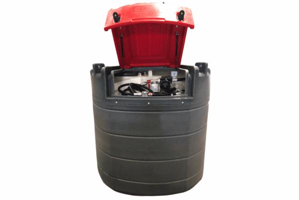 1,500L Fuelchief Fortis Stationary Fuel Tank - inside