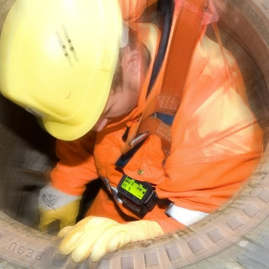 Confined Space Rescue System man in hole