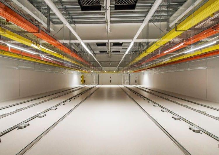 Spark Data Centre - internal building image