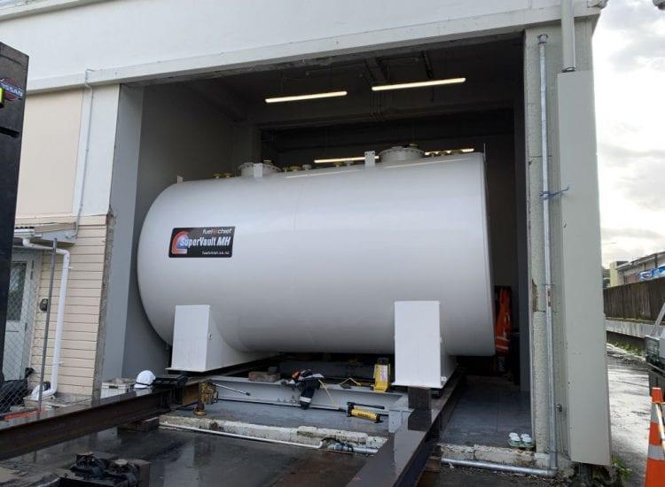 Fuelchief SuperVault Data Centre Spark Tank view