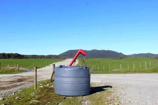 View of Fuelchief Farm Tank on Farm