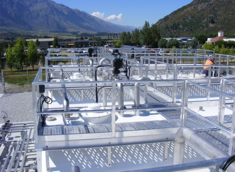 Top View of Fuelchief SuperVaults at Queenstown Airport