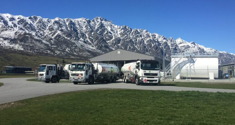 Trio of Re-fuellers - Photo Credit Air BP