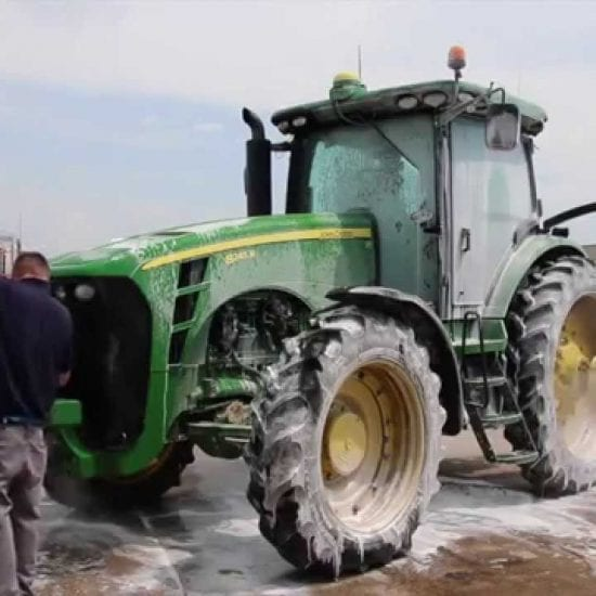 Jet Cleaning Farm Machinery Image