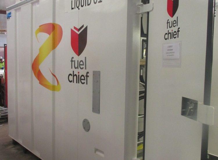 Fuelchief diesel fuel tank 5,000L for Fletchers New Zealand