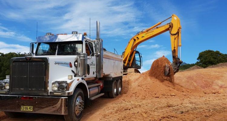 Greenstar Earthmoving Truck Machinery Image