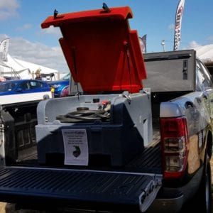 200L Fuelchief Diesel Ute Tank with red lid image