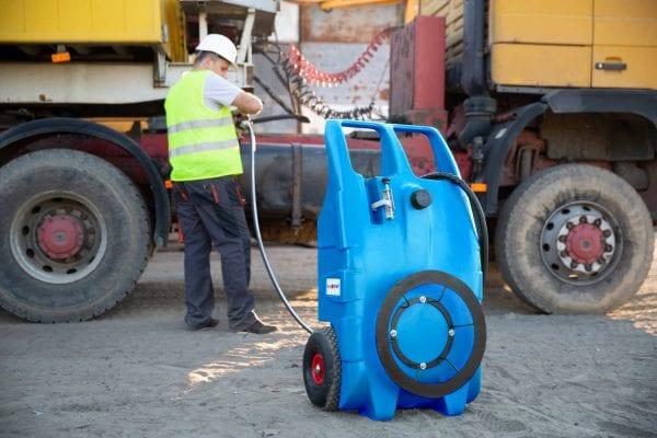 Fuelchief Blue Turtle 100L Portable Tank Filling Machinery