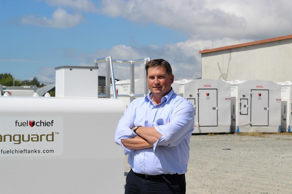Joe Deck at Fuelchief Christchurch Office