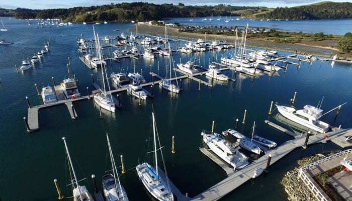 Sandspit Marina Ariel Photo