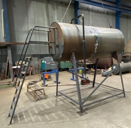 5000L Praxis fuel tank in production for AU Defence Force