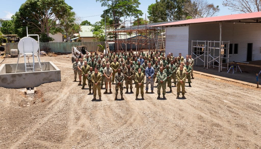 Australian Defence Force in Timor Leste with Fuelchief Praxis Tank