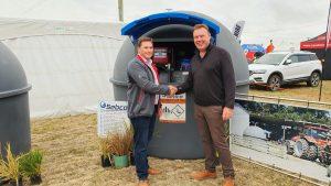 Fuelchief's Joe Deck & Sebco's previous owner Ed Harriso