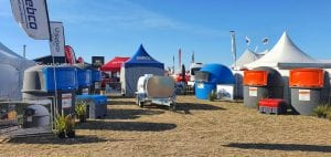 Sebco stand at Kirwee field days